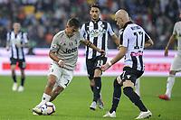 Paulo Dybala e Bram Nuytinck<br /> Udine 06-10-2018 Stadio Friuli Football Calcio Serie A 2018/2019 Udinese - Juventus<br /> Foto Federico Tardito / OnePlusNine / Insidefoto