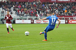 March 18, 2018 - Turin, Piedmont, Italy - Jordan Veretout (ACF Fiorentina) during the Serie A football match between Torino FC and ACF Fiorentina at Olympic Grande Torino Stadium on 18 March, 2018 in Turin, Italy. Final results: 1-2  (Credit Image: © Massimiliano Ferraro/NurPhoto via ZUMA Press)