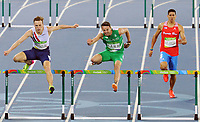 Rio 2016 Summer Olympics - Day Fourteen<br /> Tuesday  16th August<br /> <br /> Athletics - Mens 400m hurdles semi finals<br /> <br /> Thomas Barr of Ireland<br /> at The Olympic Stadium<br /> <br /> COLORSPORT/ANDREW COWIE