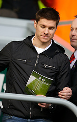 LIVERPOOL, ENGLAND - Saturday, January 26, 2008: Liverpool's Xabi Alonso during the FA Cup 4th Round match against Havant and Waterlooville at Anfield. (Photo by David Rawcliffe/Propaganda)