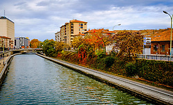 Autumn scene at the Canal du Midi in Toulouse, France<br /> <br /> (c) Andrew Wilson | Edinburgh Elite media