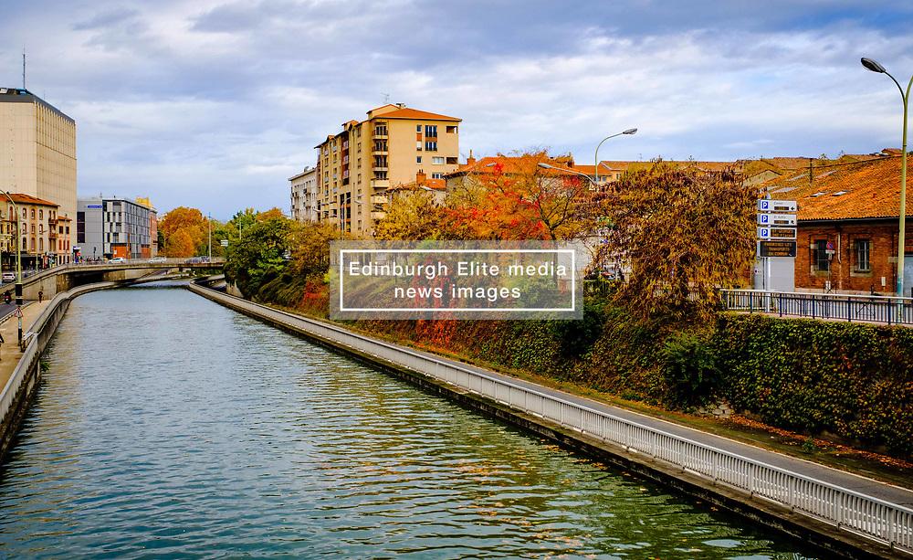 Autumn scene at the Canal du Midi in Toulouse, France<br /> <br /> (c) Andrew Wilson | Edinburgh Elite media