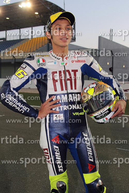 19.03.2010, Doha, Katar, QAT, MotoGP, Fahrerfotos im Bild Valentino Rossi - Fiat Yamaha team, EXPA Pictures © 2010, PhotoCredit: EXPA/ InsideFoto/ Semedia / SPORTIDA PHOTO AGENCY