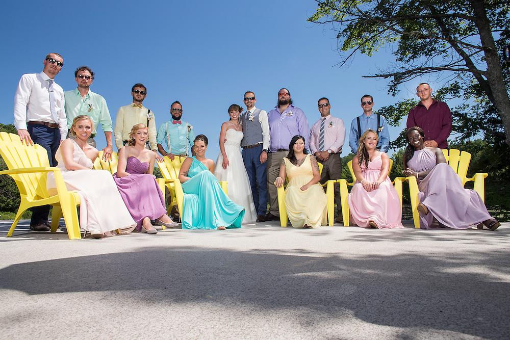 Bala, Ontario ---2016-07-22--- Justin and Chantal's Wedding in Bala, Ontario<br /> GEOFF ROBINS