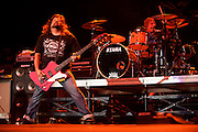 Photos of hard rock band Tesla performing on September 18, 2010 at Verizon Wireless Amphitheater