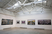 The Paris-Beijing Photo Gallery in the 798 art district in Beijing. An Edward Burtinsky exhibition.