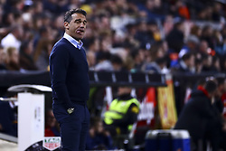 January 26, 2019 - Valencia, Spain - Head coach of Villarreal CF Luis Garcia Plaza  during  spanish La Liga match between Valencia CF vs Villarreal CF at Mestalla Stadium on Jaunary  26, 2019. (Credit Image: © Jose Miguel Fernandez/NurPhoto via ZUMA Press)