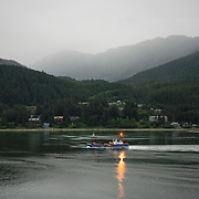 The City and Borough of Juneau is the capital city of Alaska. Commercial fishermen make Juneau their home port.<br /> Photography by Jose More