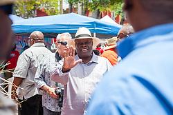 "Governor Kenneth Mapp.  ""Alvin's Cultural Workshop"" Cultural Fair honoring Mr. Alvin Turnbull.  Emancipation Garden.  St. Thomas, VI.  29 April 2015.  © Aisha-Zakiya Boyd"