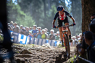 Lea Davidson (USA) during the Women Elite Cross Country event at the 2018 UCI MTB World Championships - Lenzerheide, Switzerland