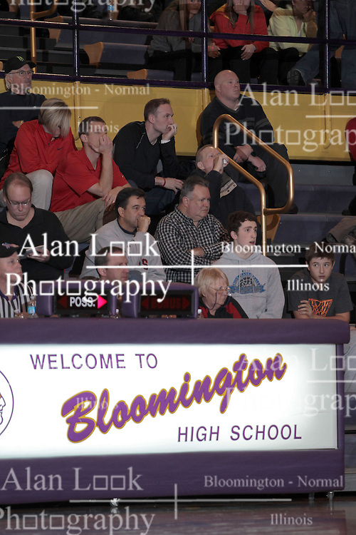 14 December 2013: Rock Island Rocks are defeated by the Bloomington Raiders at Bloomington High School in Bloomington IL
