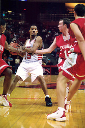 November 01, 2001:  Illinois State Redbirds basketball player Randy Rice...This image was scanned from a print.  Image quality may vary.  Dust and other unwanted artifacts may exist.