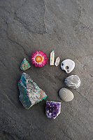 Circle of special and semi-preicous stones.