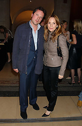 EMILY OPPENHEIMER and her husband WILLIAM TURNER at a private view of 'The World's Most Photographed' exhibition hosted by Vanity Fair and Mont Blanc to celebrate Greta Gabo's 100th Birthday at the National Portrait Gallery, St.Martin's Place, London on 19th September 2005.<br /><br />NON EXCLUSIVE - WORLD RIGHTS