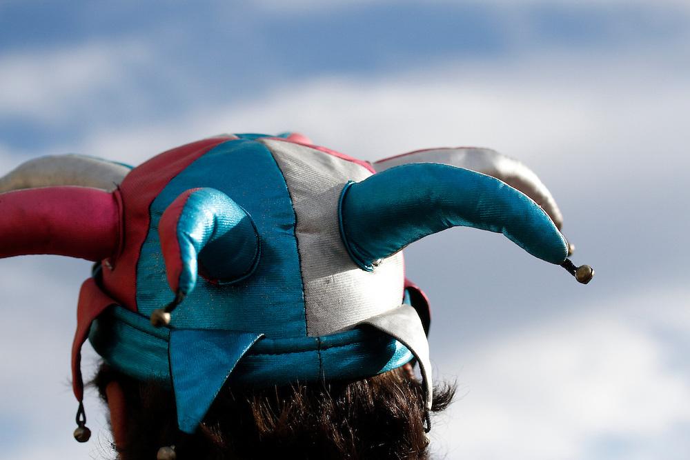 Belo Horizonte_MG, Brasil.<br /> <br /> Bloco Corte Devassa desfila pelas ruas do Centro de Belo Horizonte, Minas Gerais.<br /> <br /> Corte Devassa carnival band in Belo Horizonte, Minas Gerais.<br /> <br /> Foto: RODRIGO LIMA / NITRO