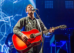 LNP HIGHLIGHTS OF THE WEEK 25/04/14 © Licensed to London News Pictures. 19/04/2014. London, UK.   James Blunt performing live at the Royal Albert Hall as part of his Moon Landing 2014 World Tour.    James Blunt is an English singer-songwriter, musician and former army captain.  James Blunt is his stage name - his real name is James Hillier Blount.  Photo credit : Richard Isaac/LNP
