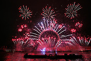 New Years Fireworks London