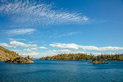 """Long Lake 1"" - Photograph of Long Lake in California's Plumas National Forest."