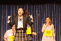 """The Hyde Park Community Players performed the comedy musical, """"The 25th Annual Putnam County Spelling Bee"""" this weekend at the University Church located at 57th and Greenwood.<br /> <br /> Lynette Li-Rappaport as Marcy Park<br /> <br /> Please 'Like' """"Spencer Bibbs Photography"""" on Facebook.<br /> <br /> All rights to this photo are owned by Spencer Bibbs of Spencer Bibbs Photography and may only be used in any way shape or form, whole or in part with written permission by the owner of the photo, Spencer Bibbs.<br /> <br /> For all of your photography needs, please contact Spencer Bibbs at 773-895-4744. I can also be reached in the following ways:<br /> <br /> Website – www.spbdigitalconcepts.photoshelter.com<br /> <br /> Text - Text """"Spencer Bibbs"""" to 72727<br /> <br /> Email – spencerbibbsphotography@yahoo.com"""