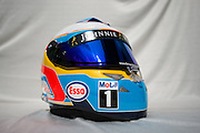 March 27-29, 2015: Malaysian Grand Prix - Fernando Alonso (SPA), McLaren Honda, helmet detail