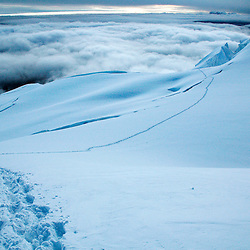 On the way to the summit, Huayna Potosi (6100 m.a.s.l.), Bolivia