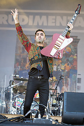 © Licensed to London News Pictures . 07/06/2014 . Heaton Park , Manchester , UK . RUDAMENTAL perform on the Main stage at the Parklife music festival in Heaton Park Manchester . Photo credit : Joel Goodman/LNP