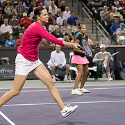 March 7, 2015, Indian Wells, California:<br /> Lindsay Davenport plays during the McEnroe Challenge for Charity presented by Masimo in Stadium 2 at the Indian Wells Tennis Garden in Indian Wells, California Saturday, March 7, 2015.<br /> (Photo by Billie Weiss/BNP Paribas Open)
