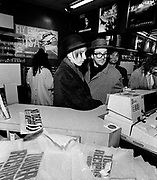 Elvis Costello at Tower records Kensington