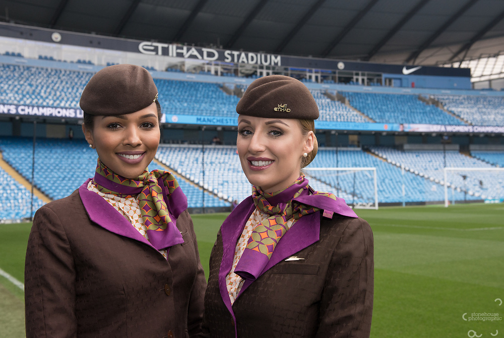 Etihad Crew at Manchester City football club,<br /> 7th, April.2018.