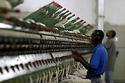 Pedro Leopoldo_MG, Brasil...Operario em uma fabrica textil em Pedro Leopoldo...A worker textile factory in Pedro Leopoldo...Foto: LEO DRUMOND / NITRO