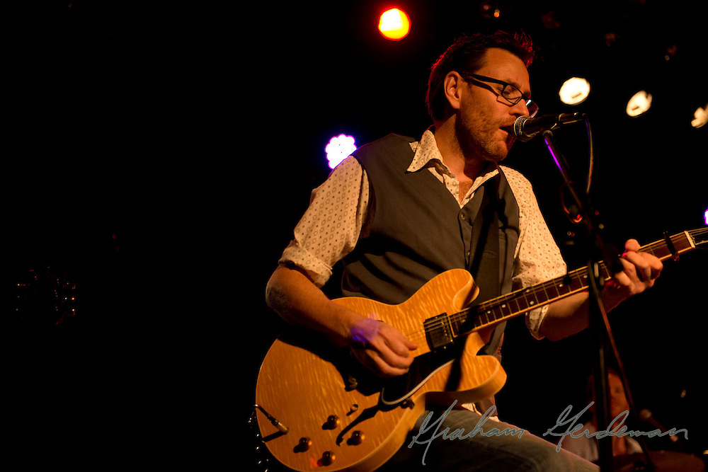 Sam Hawksley of The Little Rippers performs at the Rutledge in Nashville, TN