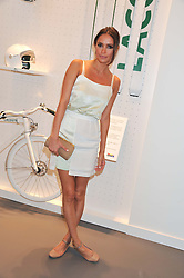SASHA VOLKOVA at a party to celebratethe opening of the Lacoste Flagship Store at 44 Brompton Road, Knightsbridge, London on 20th June 2012.