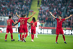 October 11, 2018 - Chorzow, Slask, Poland - Portugal national football team during the UEFA Nations League A soccer match between Poland and Portugal at Silesian Stadium in Chorzow, Poland on 11 October 2018  (Credit Image: © Mateusz Wlodarczyk/NurPhoto via ZUMA Press)