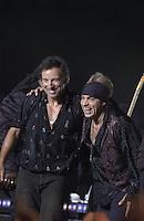 Bruce Springsteen and Steve Van Zandt - MTV Video Music Awards 2002 - American Museum of Natural History