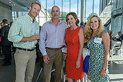 Greg Abrams, Chris and Laura Murphy and Leigh Bomar at the 10-year anniversary celebration of Republic Bank's Private Banking and Business Banking divisions Wednesday, May 17, 2017, at the Speed Art Museum in Louisville, Ky. (Photo by Brian Bohannon)