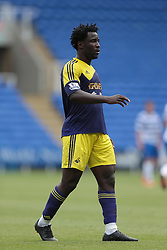 Swansea City forward Wilfried Bony (10) during the pre-season friendly game between Reading and Swansea City.  Photo mandatory by-line: Nigel Pitts-Drake/JMP  - Tel: Mobile:07966 386802 27/07/2013 - Reading v  Swansea City  - SPORT - FOOTBALL - pre-season - Reading - Madejski Stadium