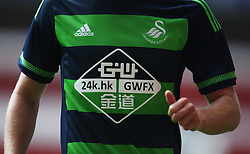General view of the new of Swansea City away shirt<br /> <br />  - Mandatory by-line: Jack Phillips/JMP - 25/07/2015 - SPORT - FOOTBALL - Nottingham - The City Ground - Nottingham Forest v Swansea - Pre-Season Friendly
