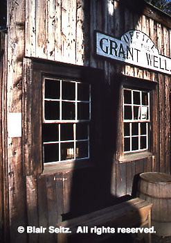 Replica of Grant Well field office, Drake Well Museum, Titusville, Venango Co., PA
