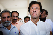Mianwali: Imran Khan, philanthropist, Member of Parliament for the district of Mianwali and Chairman of Namal College visits the campus to inaugurate the first rural CISCO Academy in Pakistan...As a representative of the Mianwali district in Pakistan's Parliament, Imran has undertaken a number of initiatives to address multiple economic and social challenges faced by the area. These challenges include driving improvements in literacy, community organisation, health, access to credit, encouragement of corporate investment, and education...Namal College is an Associate College of the University of Bradford. Imran was appointed as Chancellor of the University of Bradford in the UK, acting as an ambassador for the University in the UK and overseas.