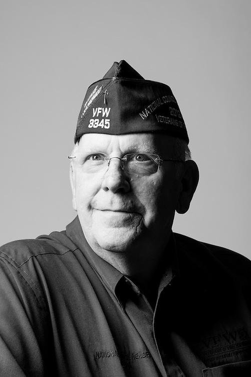 Richard Uzl<br /> Air Force<br /> E-4<br /> Aircraft Maintenance<br /> Feb. 1963 - Feb. 1967<br /> Vietnam, Korea<br /> <br /> Veterans Portrait Project<br /> St. Louis, MO