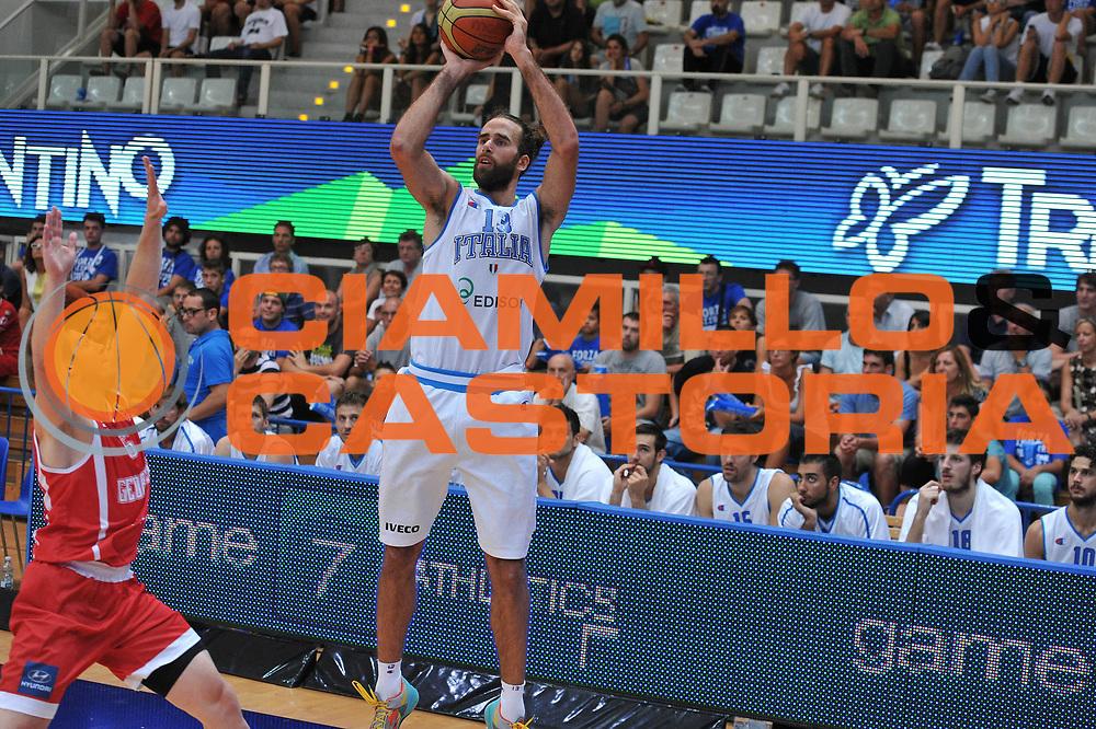 DESCRIZIONE : Trento Trentino Basket Cup Italia Georgia<br /> GIOCATORE : luigi datome<br /> CATEGORIA :tiro<br /> SQUADRA : Nazionale Italia Maschile<br /> EVENTO :  Trento Trentino Basket Cup<br /> GARA : Italia Georgia<br /> DATA : 07/08/2013<br /> SPORT : Pallacanestro<br /> AUTORE : Agenzia Ciamillo-Castoria/M.Gregolin<br /> Galleria : FIP Nazionali 2013<br /> Fotonotizia : Trento Trentino Basket Cup Italia Georgia<br /> Predefinita :