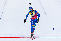 March 8, 2019 - –Stersund, Sweden - 190308 Lisa Vittozzi of Italy crosses the finish line in the Women's 7.5 KM sprint during the IBU World Championships Biathlon on March 8, 2019 in Östersund..Photo: Johan Axelsson / BILDBYRÃ…N / Cop 245 (Credit Image: © Johan Axelsson/Bildbyran via ZUMA Press)