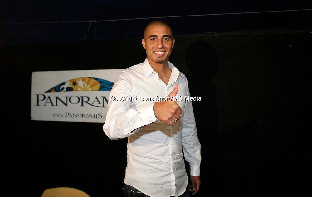 David Trezeguet - 31.08.2010 - Transfert a Hercules Alicante - Liga 2010/2011 - Photo : Manuel Lorenzo / Alfaqui / Icon Sport