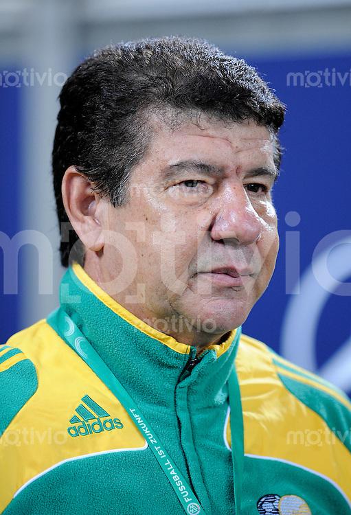 Fussball   International    Freundschaftsspiel   Deutschland - Suedafrika      05.09.09 Trainer Joel SANTANA (RSA), Portrait.