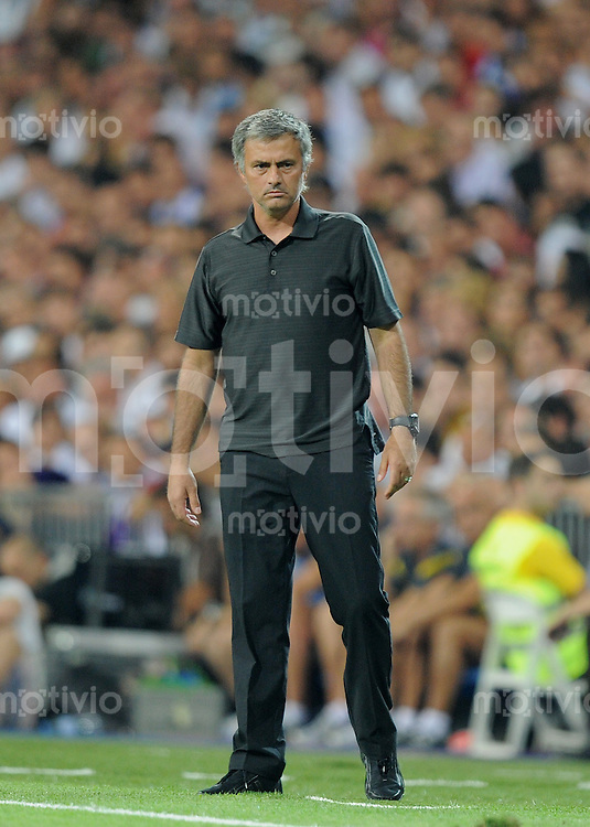 FUSSBALL  INTERNATIONAL  PRIMERA DIVISION  SAISON 2011/2012   14.08.2011 El Clasico  Super Cup 2011 Trainer Jose Mourinho (Real Madrid)