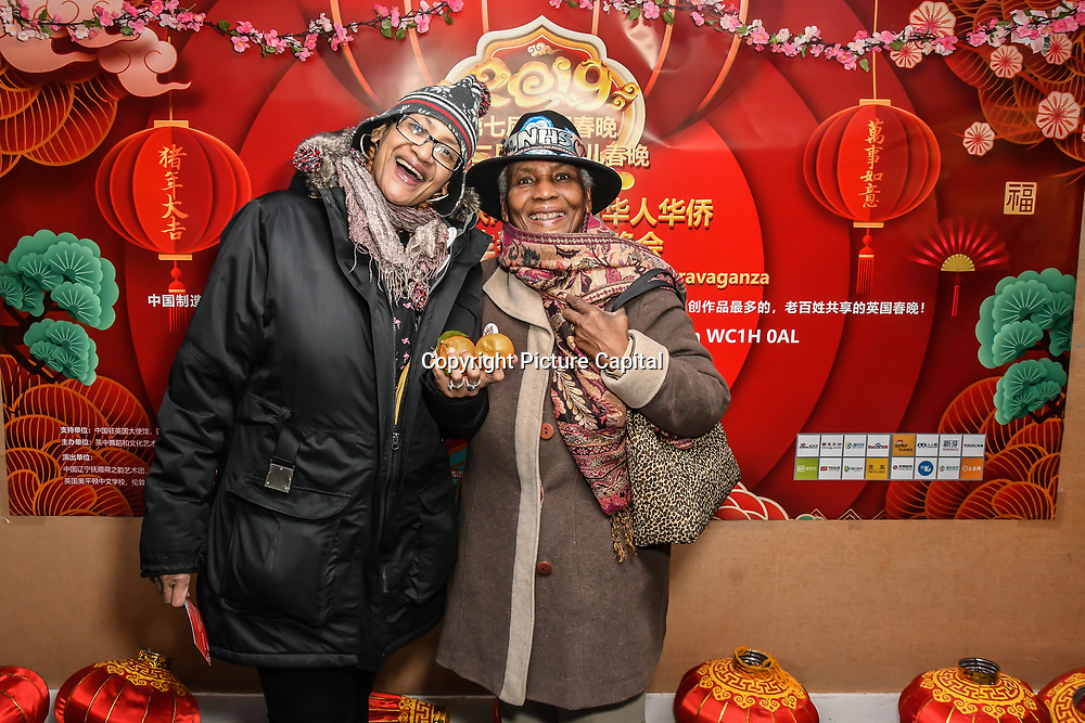 The UK Chinese Dance and Culture Association hosts the 7th 2019 Chinese New Year Extravaganza showcasing more than 300 performers including musical Chinese dance , Taiji ,Kungfu,magic face change and much more at Logan Hall. The performance from more than 20 arts groups from China and UK on 2nd Febuary 2019, London, UK.