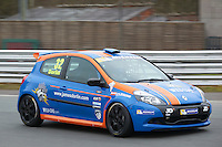 #32 James DORLIN Westbourne Motorsport during Michelin Clio Cup Series as part of the BARC NW - Championship Raceday  at Oulton Park, Little Budworth, Cheshire, United Kingdom. March 19 2016. World Copyright Peter Taylor/PSP. Copy of publication required for printed pictures.  Every used picture is fee-liable. http://archive.petertaylor-photographic.co.uk