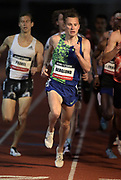 May 16, 2019; Los Angeles, CA, CA, USA; Kalle Berglund wins the 1,500m in 3:37.84  during the USATF Distance Classic at Occidental College.