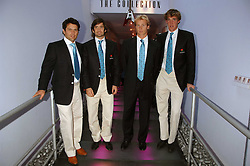 Left to right, the England polo team ?, HENRY BRETT, OLIVER HIPWOOD and LUKE TOMLINSON at the Cartier Polo Players' Party in association with the Hurlingham Polo Association held at The Collection, London SW3 on 24th July 2007.<br /><br />NON EXCLUSIVE - WORLD RIGHTS