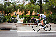 Dimension Data's Kanstantsin Siutsou climbs Montjuic, Barcelona, on the last stage of the Volta Catalunya 2016 cycling race. <br /> <br /> Dimension Data Kanstantsin Siutsou sube Montjuic, Barcelona, en la última etapa de la carrera ciclista Volta Catalunya 2016.<br /> <br /> Dimension Data Kanstantsin Siutsou puja Montjuïc, Barcelona, en l'última etapa de la cursa ciclista Volta Catalunya 2016.
